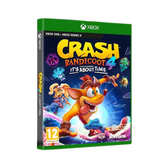 "Crash Bandicoot 4 It's About Time For Xbox One ""Region 2"""