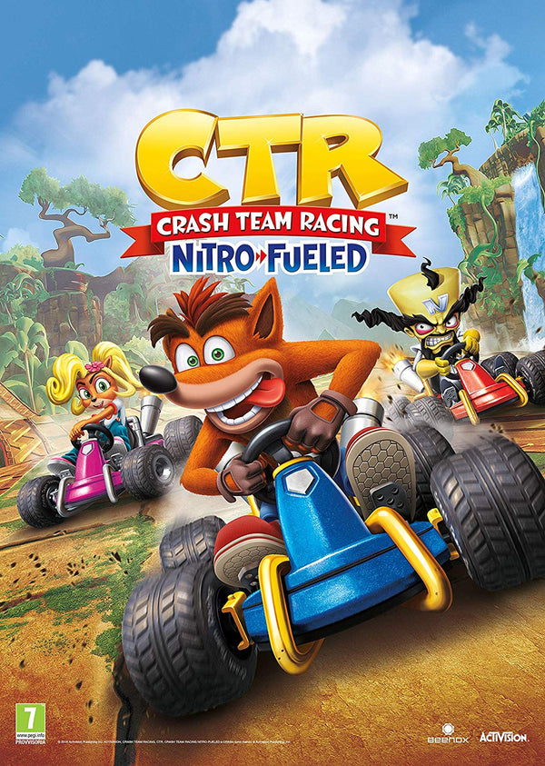 Crash Team Racing Nitro Fueled - PlayStation 4 Game