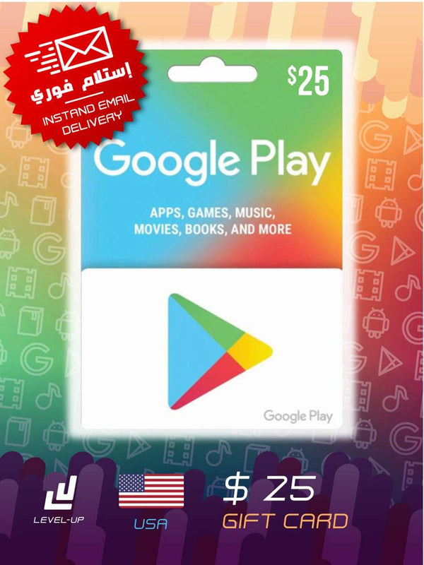 Digital Cards - Google Play Gift Card $25