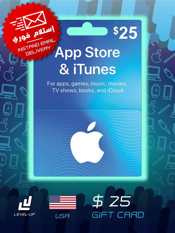 Digital Cards - ITunes Gift Card $25