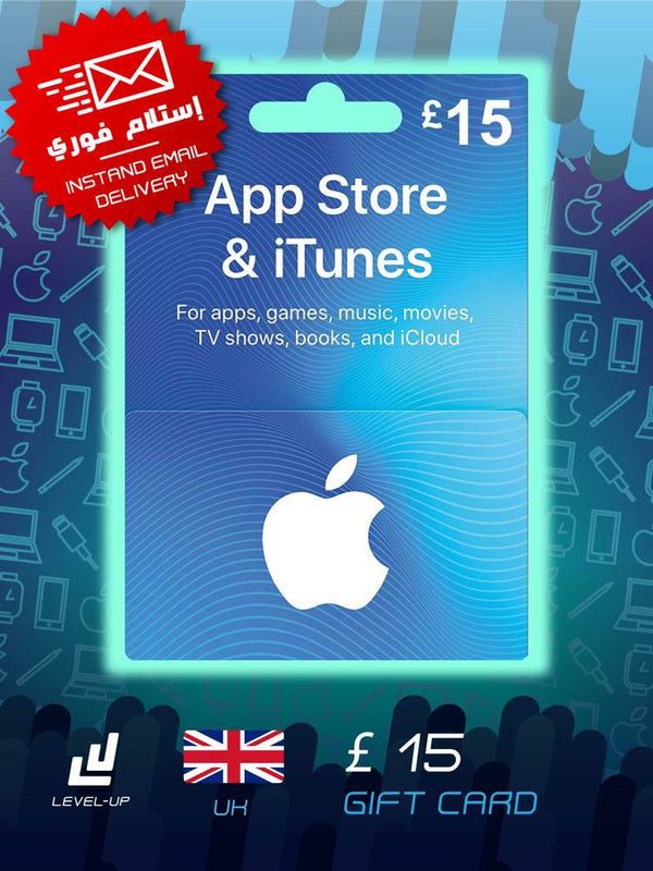 iTunes Gift Card (UK) £15