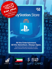 PlayStation / PSN Store Gift Card (Kuwait) $50