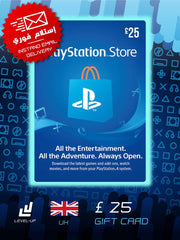 PlayStation / PSN Store Gift Card (UK) £25