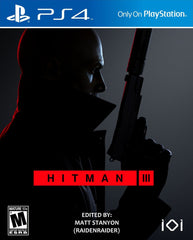 "Hitman 3 For Playstation 4 ""Region 1"""