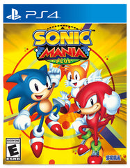 "Sonic Mania Plus For PlayStation 4 ""Region 1"""