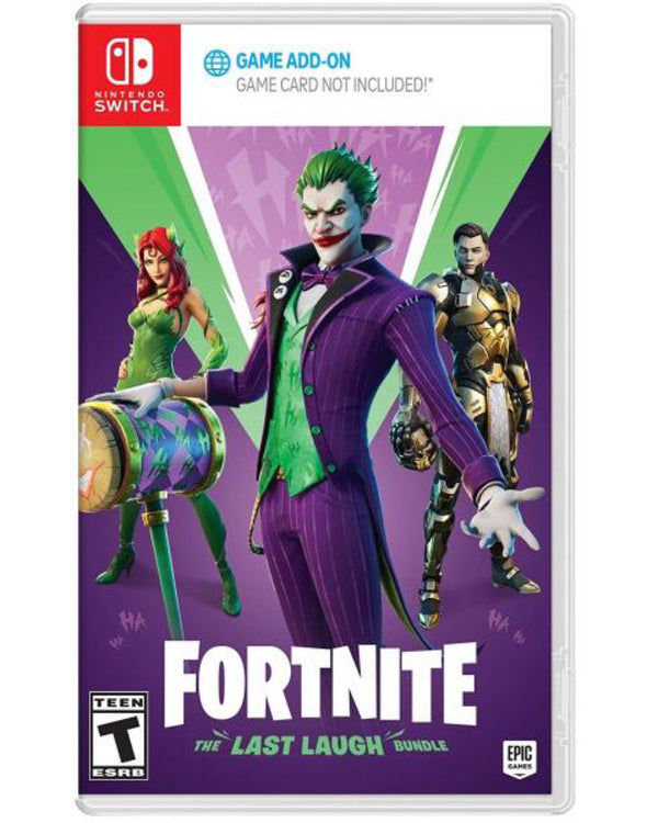 "Fortnite The Last Laugh Bundle For Nintendo Switch ""Region 1"""