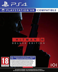 "Hitman 3 Deluxe edition For PS4 & VR ""Region 2"""