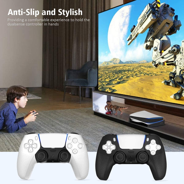 OIVO controller Grip Skin for PlayStation 5 - Black/White
