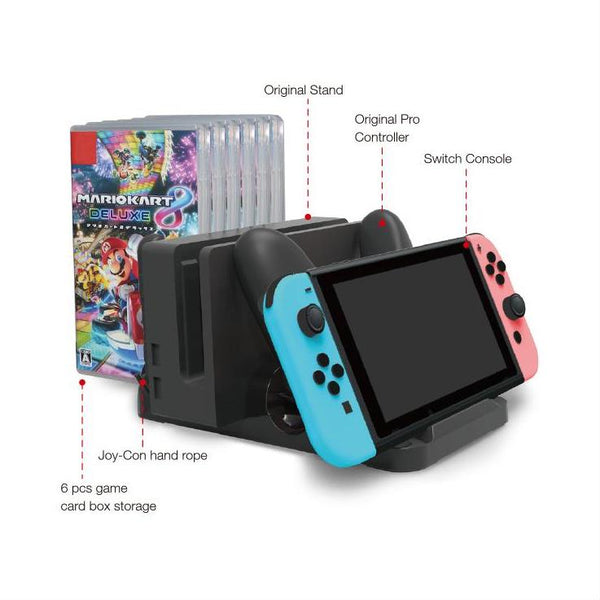 Dobe Switch Multi-Function Charging Stand