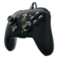Faceoff Deluxe Wired Pro Controller Breath of the Wild Edition