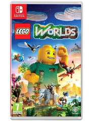 Lego Worlds For Nintendo Switch Game