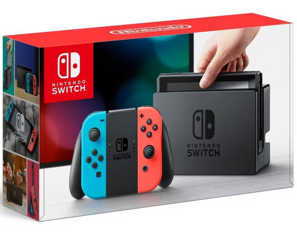 Nintendo Switch 32GB Neon Red and Neon Blue Joy-Con