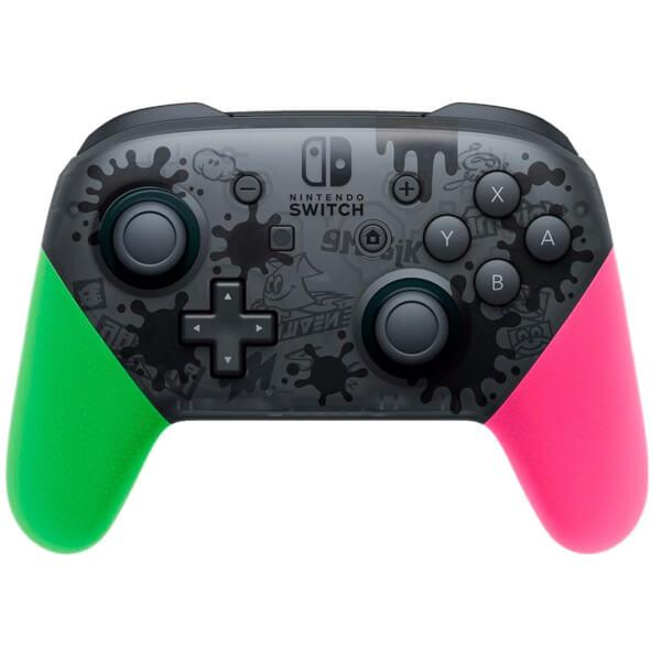Nintendo Switch Pro Controller Splatoon 2 Edition