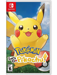 Pokemon Let's Go Pikachu! For Nintendo Switch