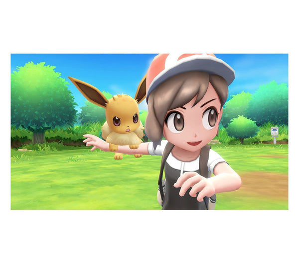 Pokemon Lets Go Pikachu! For Nintendo Switch