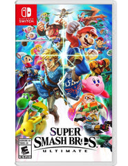 Super Smash Bros Ultimate For Nintendo Switch