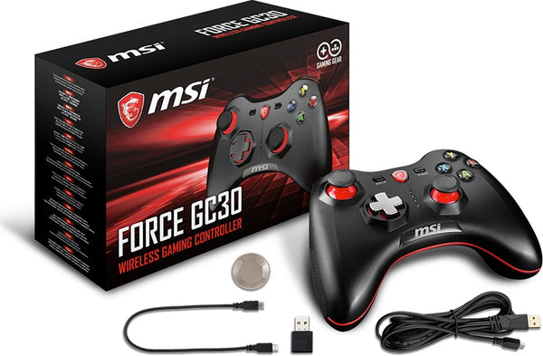 PC - MSI Force GC30 Gaming Wireless Controller