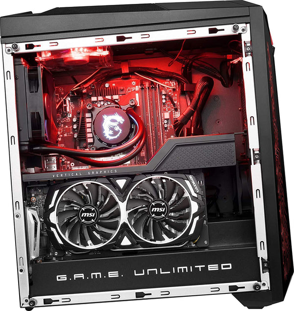MSI Infinite X 8RE Gaming Desktop Intel Core i7 8700K