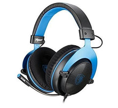 SADES Mpower Gaming Headset Black & Blue