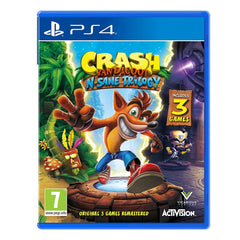 "Crash Bandicoot N. Sane Trilogy For PlayStation 4 ""Region 2"""