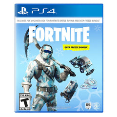 Fortnite Deep Freeze Bundle For PlayStation 4 - Region 1
