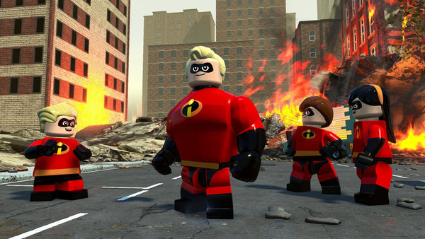LEGO The Incredibles For PlayStation 4 - Region 1