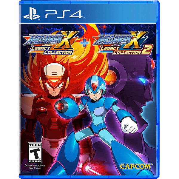 Mega Man X Legacy Collection 1+ 2 For PlayStation 4 - Region 1