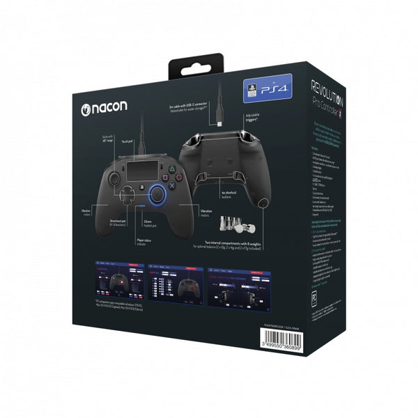 Nacon Revolution Pro Controller Ver.2 Gamepad For PlayStation 4 & PC