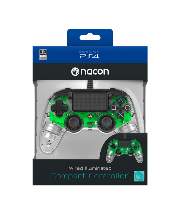 Nacon Wired Illuminated Compact Controller For PlayStation 4
