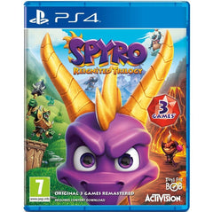Spyro Reignited Trilogy For PlayStation 4 - Region 2 ( Arabic )