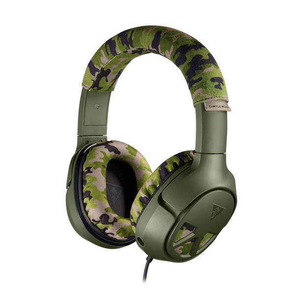 Turtle Beach Ear Force Recon Camo Wired Gaming Headset for Xbox One, PlayStation 4, PC, Switch & Mobile