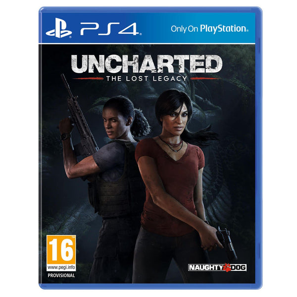 Uncharted The Lost Legacy For PlayStation 4 - Region 2