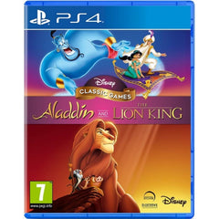 PS4 Aladdin & The lino king pal