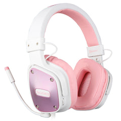 "SADES Dpower Console Gaming Headset ""Pink/White"""