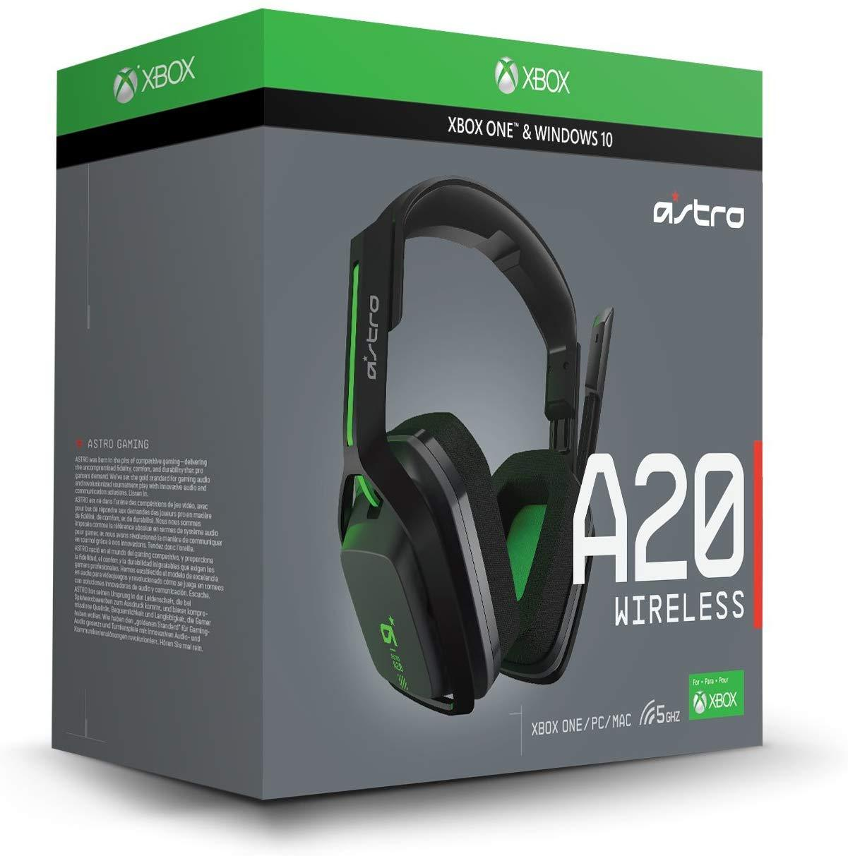 Astro A20 Wireless Gaming Headset For Xbox One Pc Level Up