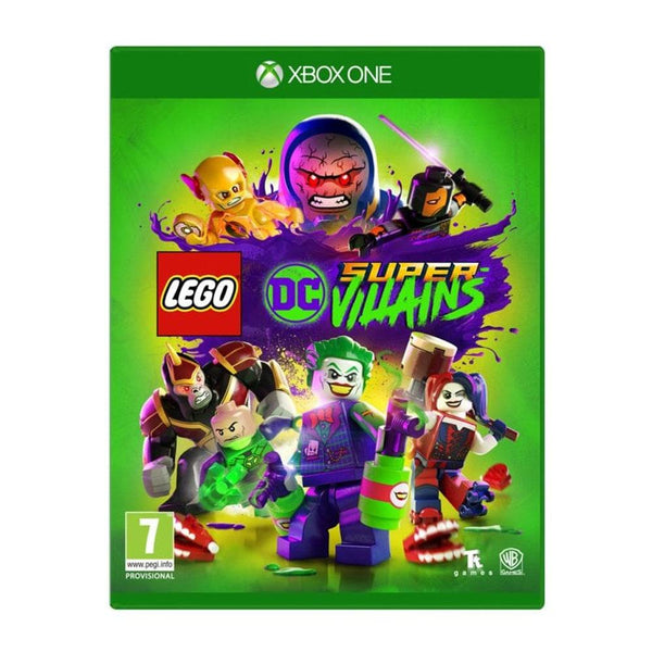 Lego DC Super Villains For Xbox One - Region 2 (Arabic)