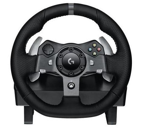XBOX - Logitech G920 Driving Force Steering Wheel & Pedal