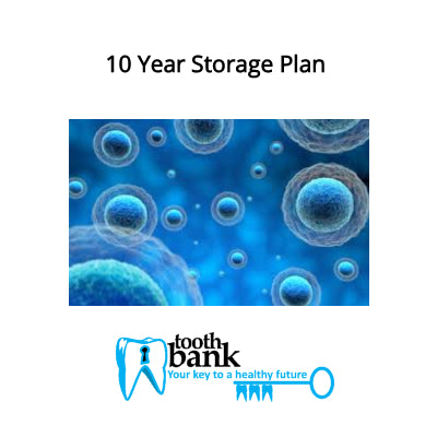 Tooth Bank Stem Cell Storage - 10 Year Long Term Discounted Plan