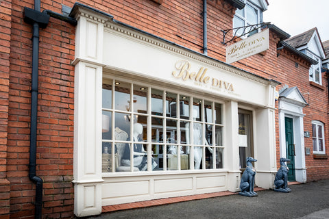 Front of Belle Diva Store
