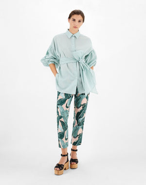 Cotton and silk shirt - Belle Diva