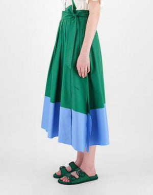 Cotton poplin skirt - Belle Diva