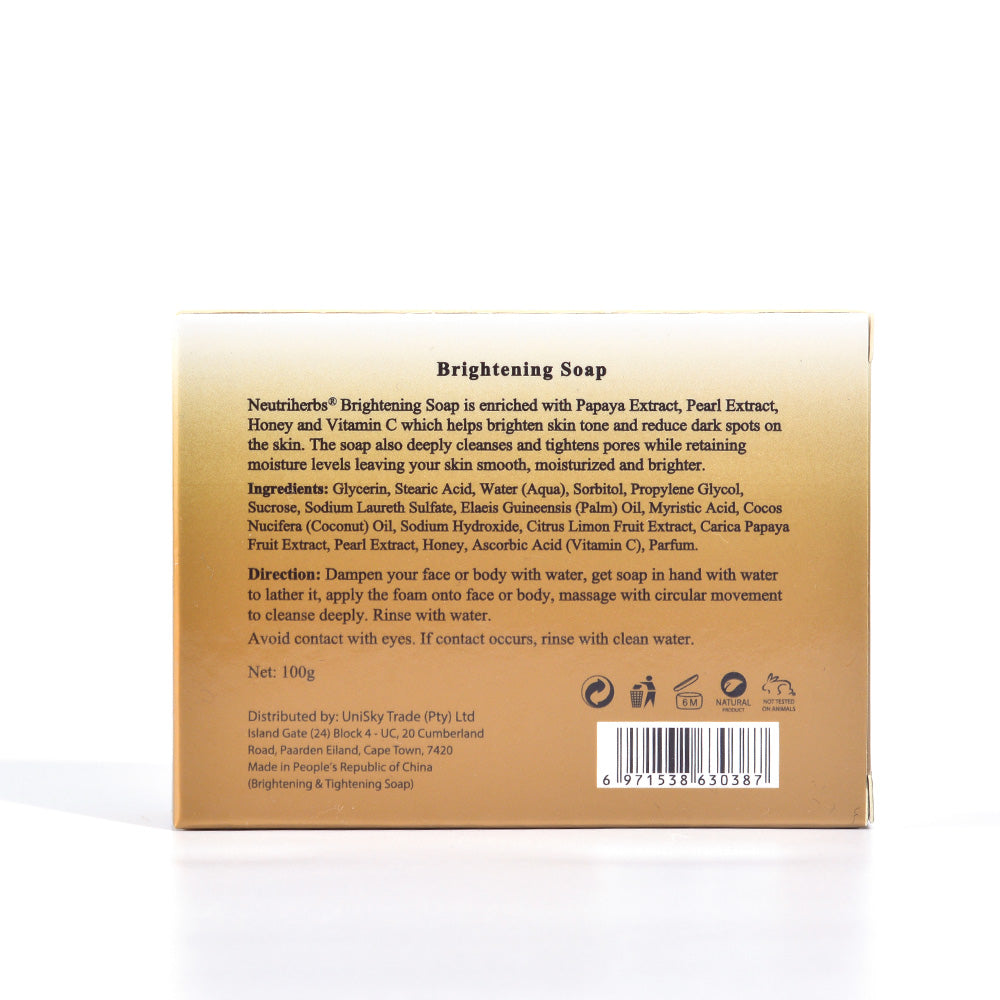 Brightening & Tightening Soap