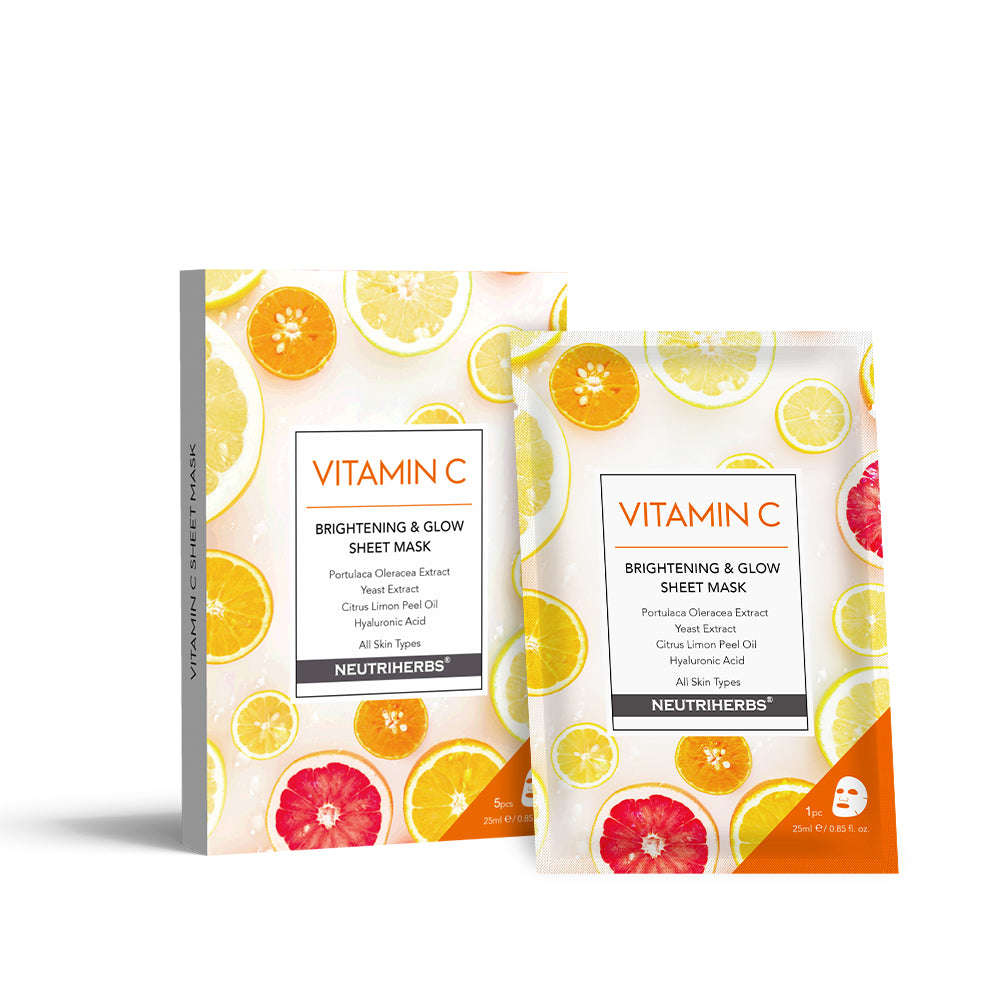Vitamin C Brightening and Glow Sheet Mask