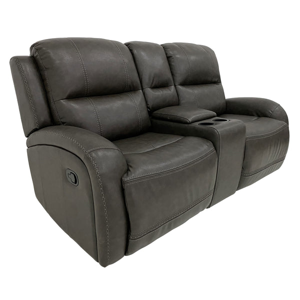 Lowry Reclining Loveseat with Console