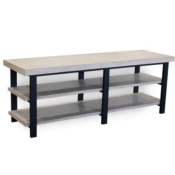 Pescara Entertainment Console Antique Birch