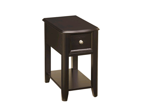 Breegin Espresso Side Table