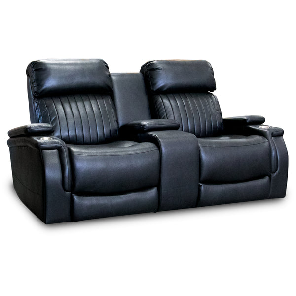 Talon Reclining Loveseat With Console