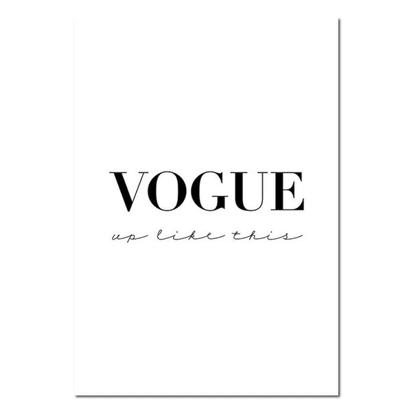 Vogue - Black Lips