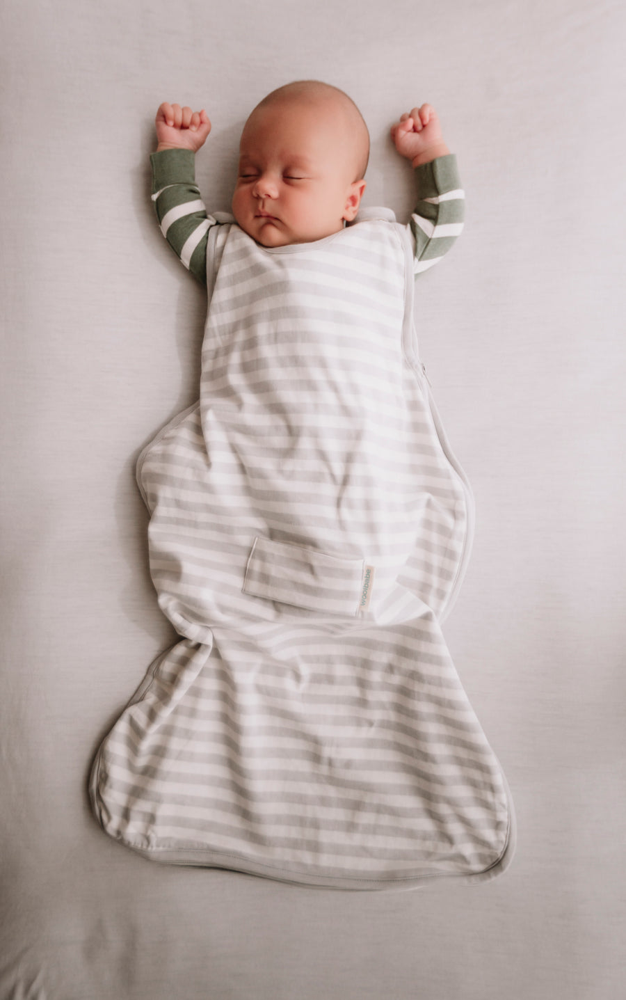 Woolbabe 3 Season Front Zip Sleeping Bag 3-24 months