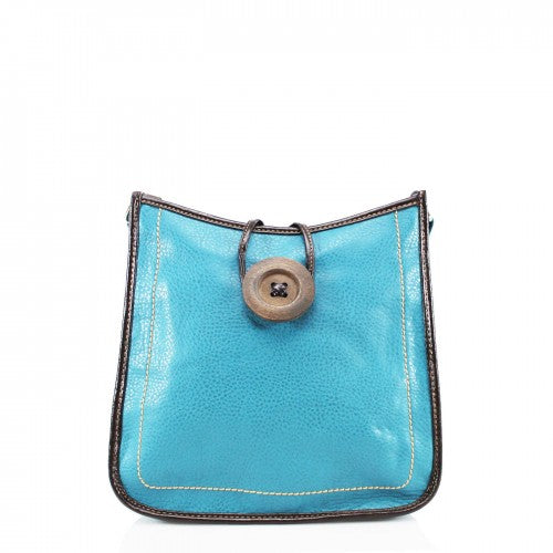 Cross Body Button Bag